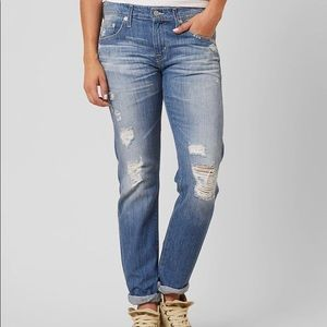 Big Star Taylor Slouchy Distressed Jeans I